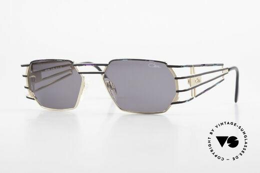 Cazal 980 Markante Vintage Sonnenbrille Details