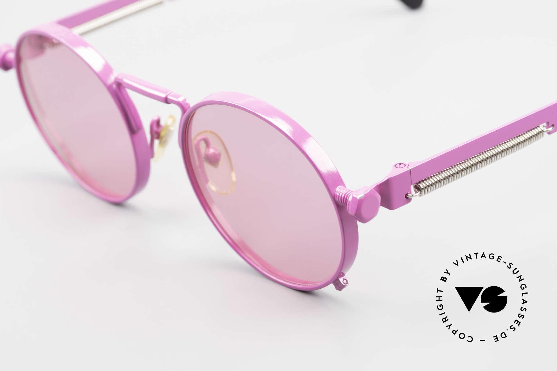 Jean Paul Gaultier 56-8171 Sonderanfertigung in Pink, Premium-Qualität wie aus einem Guss, made in Japan, Passend für Herren und Damen