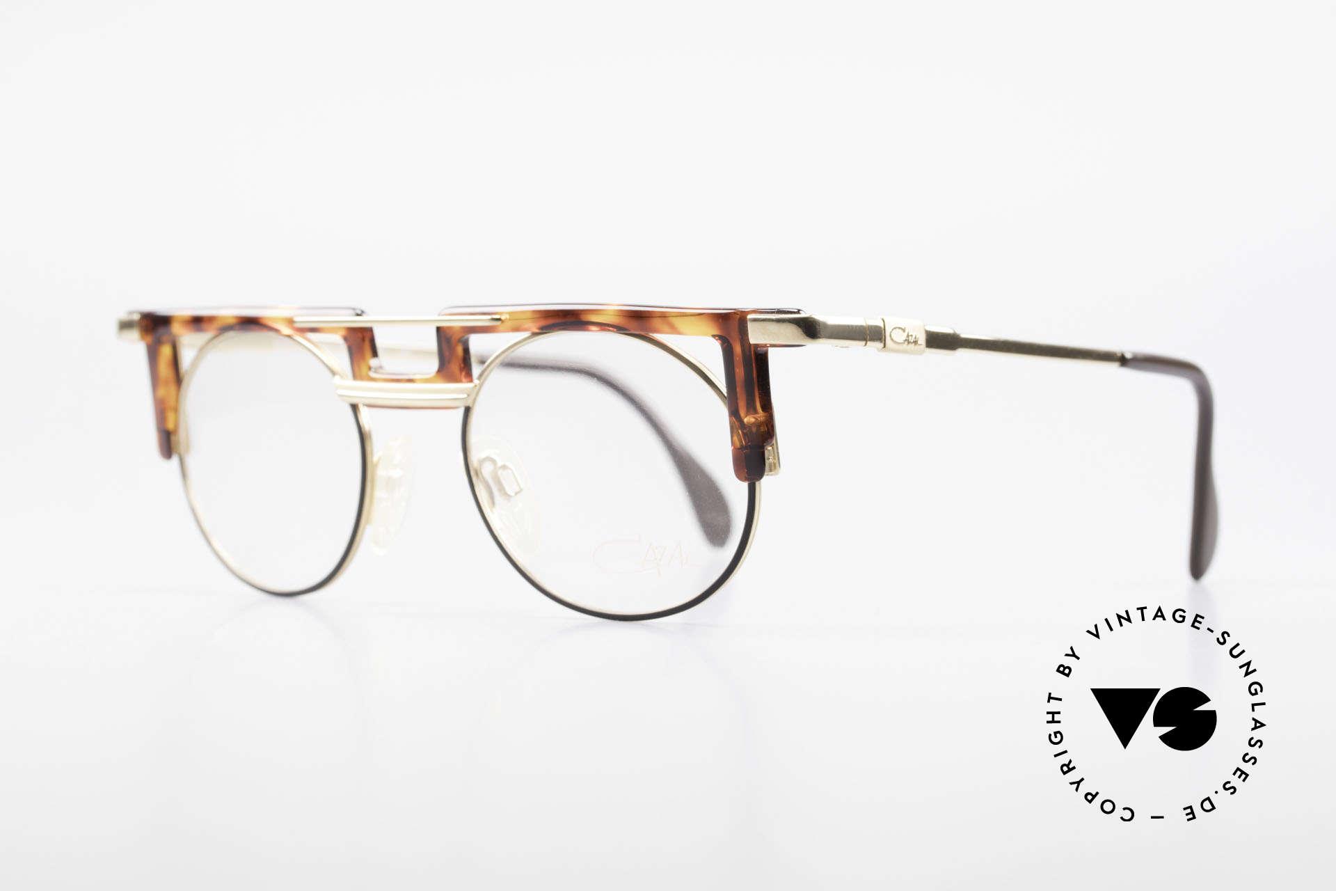 Cazal 745 Alte Cazal 90er Markenbrille, auffällig einzigartig (unverwechselbar CAri ZALloni), Passend für Herren und Damen