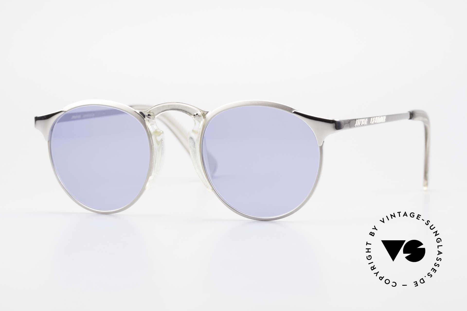 Jean Paul Gaultier 57-0174 Rare 90er Panto Sonnenbrille, Premium-Sonnenbrille der Junior Gaultier Serie, Passend für Herren