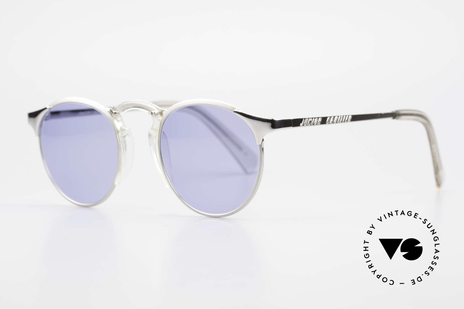 Jean Paul Gaultier 57-0174 Rare 90er Panto Sonnenbrille, herausragende TOP-Qualität (muss man fühlen), Passend für Herren