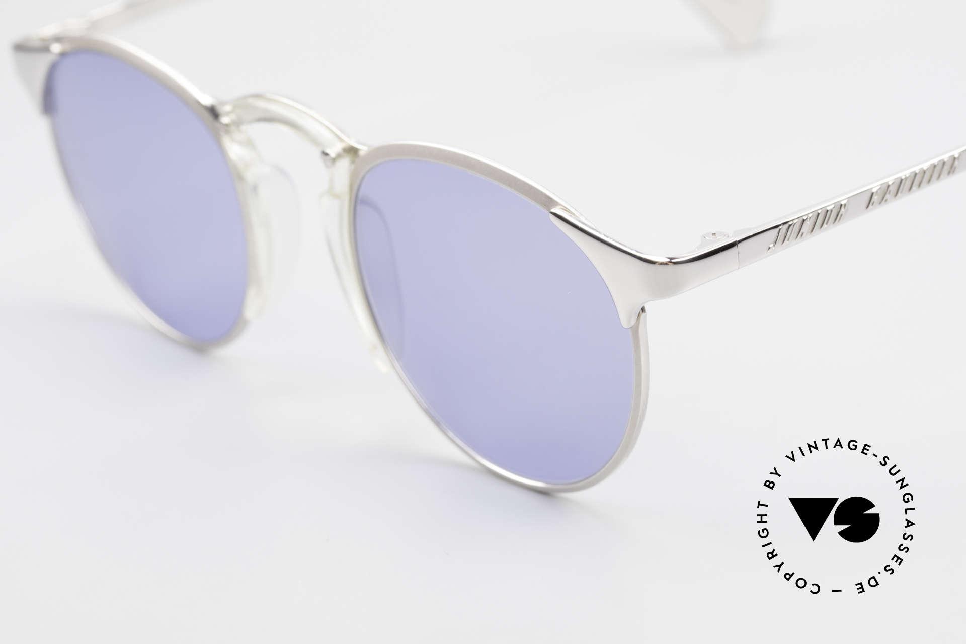 Jean Paul Gaultier 57-0174 Rare 90er Panto Sonnenbrille, unbenutzt (wie alle unsere JPG Sonnenbrillen), Passend für Herren