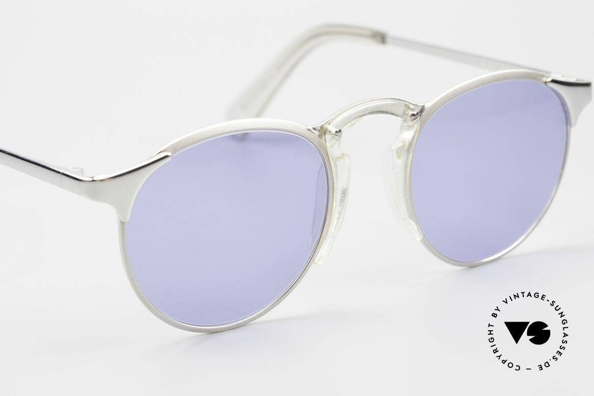Jean Paul Gaultier 57-0174 Rare 90er Panto Sonnenbrille, KEINE Retrobrille, sondern ein Original von 1997, Passend für Herren