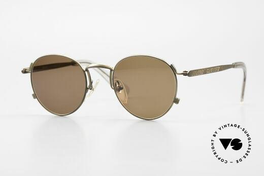 Jean Paul Gaultier 57-1171 90er JPG Designer Sonnenbrille Details
