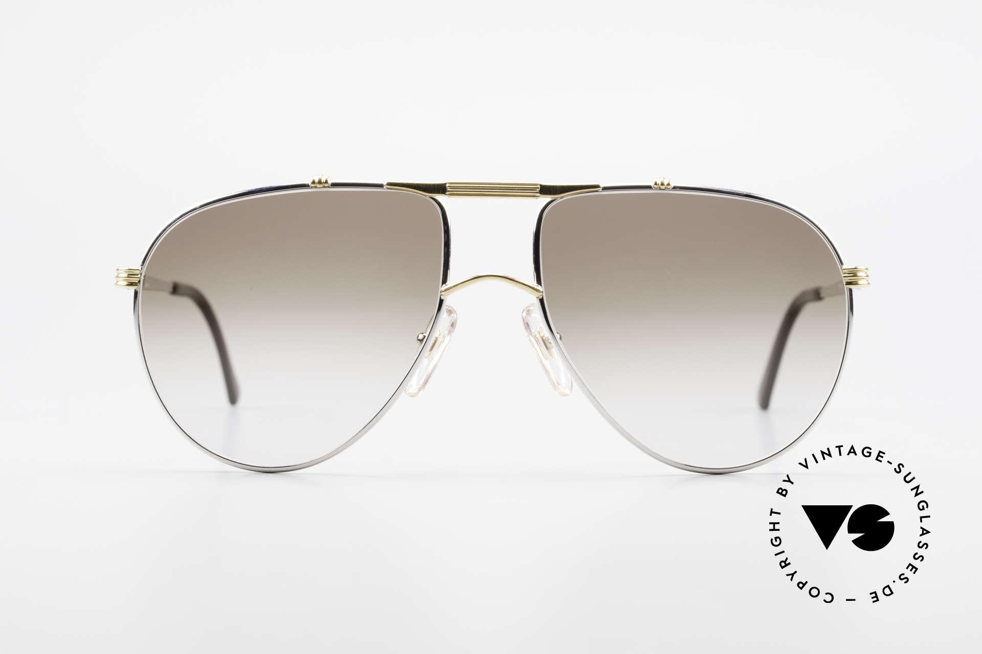 Christian Dior 2248 Large 80er Aviator Sonnenbrille, edle Designer-Fassung von 1984; authentisch vintage!, Passend für Herren
