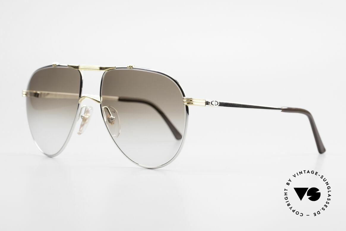 Christian Dior 2248 Large 80er Aviator Sonnenbrille, ungetragen (wie alle unsere alten 1980er Dior Brillen), Passend für Herren