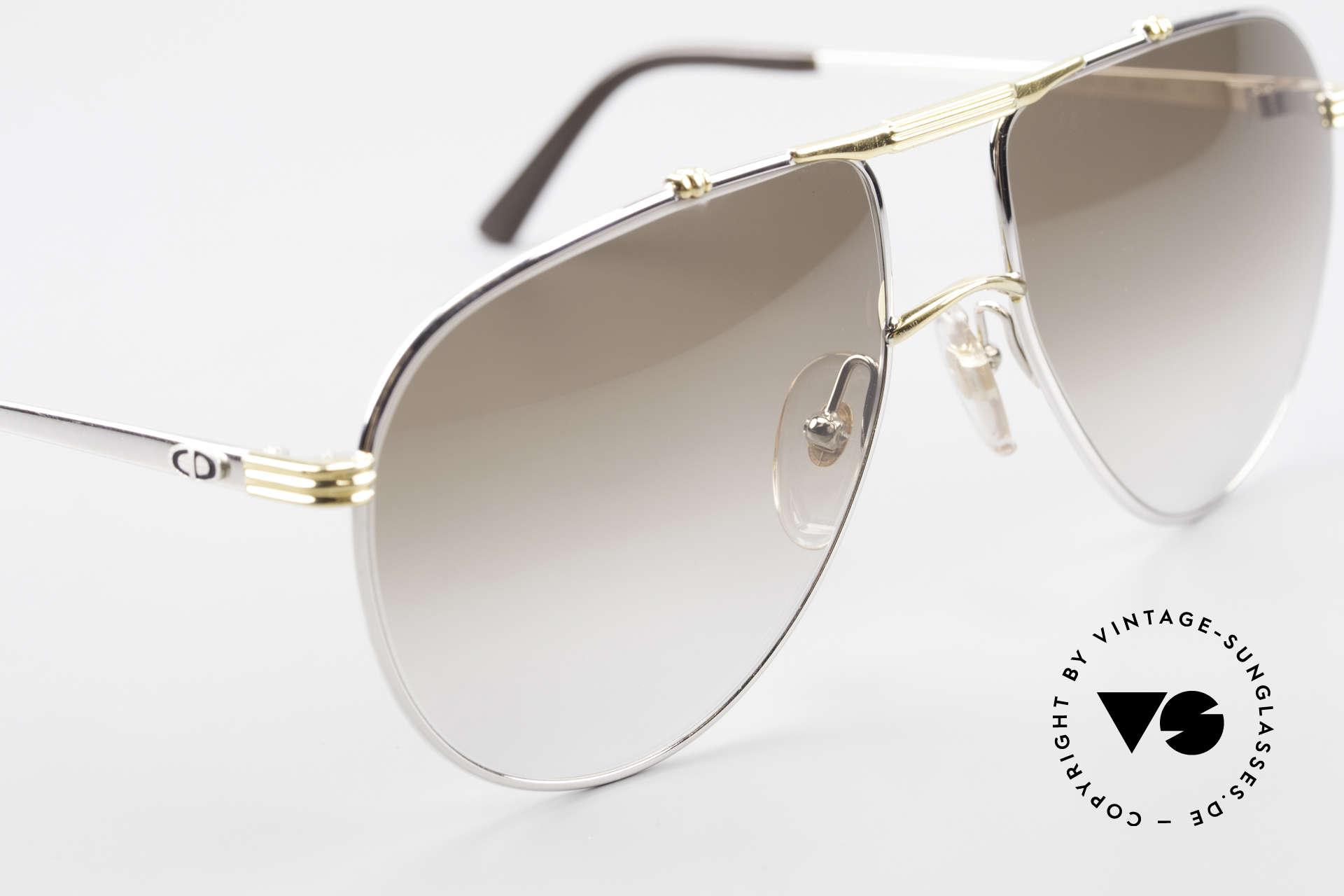 Christian Dior 2248 Large 80er Aviator Sonnenbrille, KEINE RETROMODE; ein über 30 Jahre altes Original, Passend für Herren