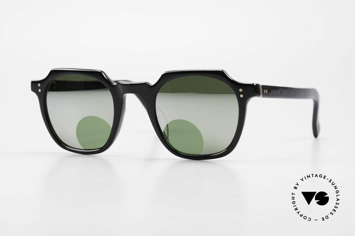 Jean Paul Gaultier 58-0071 Verspiegelt Mit Lesefenstern, 90er Jahre Designersonnenbrille von Jean P. Gaultier, Passend für Herren und Damen