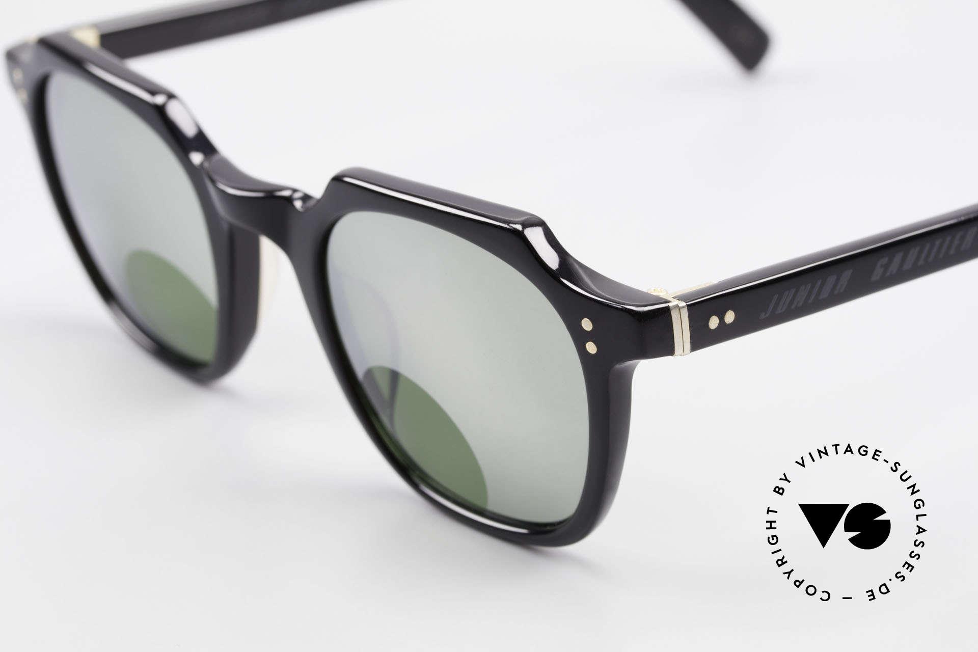 Jean Paul Gaultier 58-0071 Verspiegelt Mit Lesefenstern, genial verspiegelte Gläser mit kleinen Lese-Fenstern, Passend für Herren und Damen