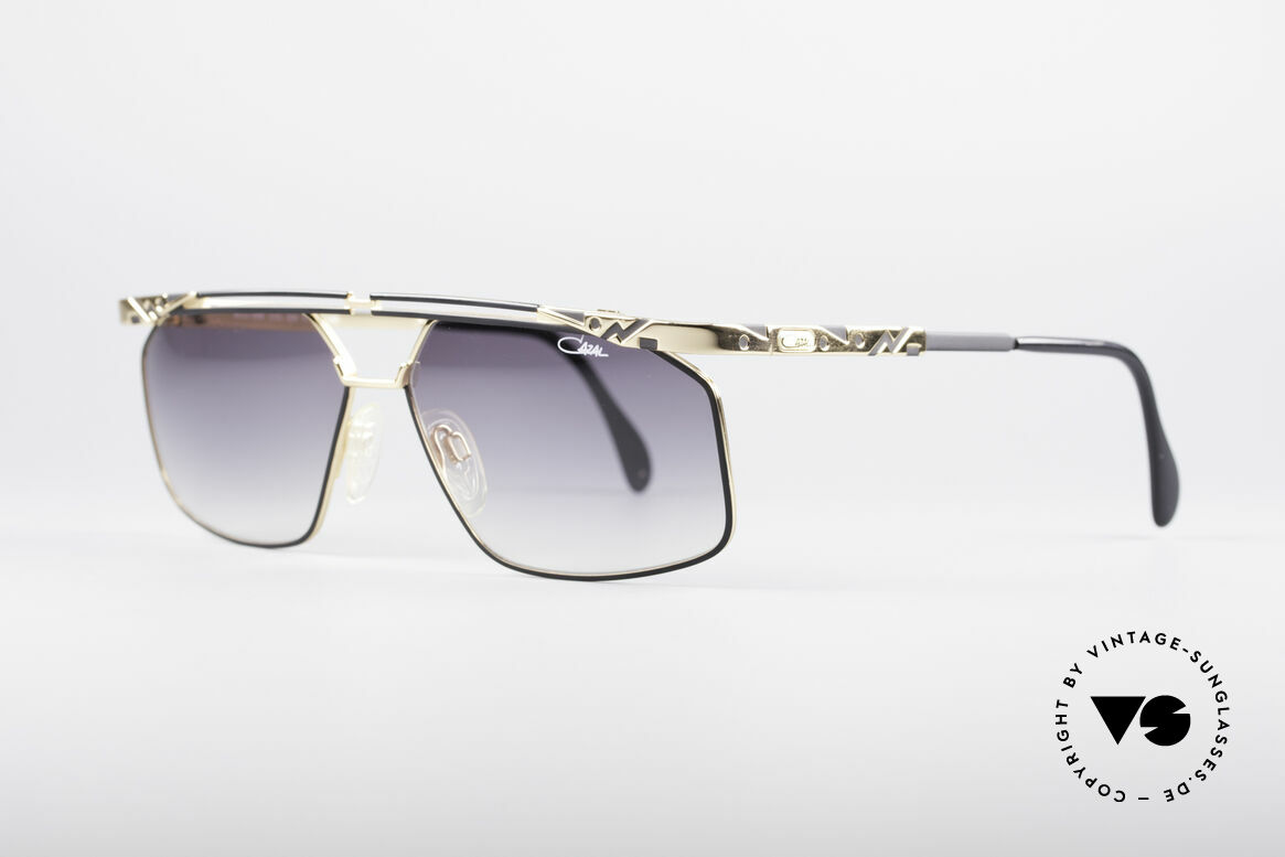 Cazal 966 Markante 90er Designer Brille, enorm hochwertig (muss man fühlen); 100% UV, Passend für Herren