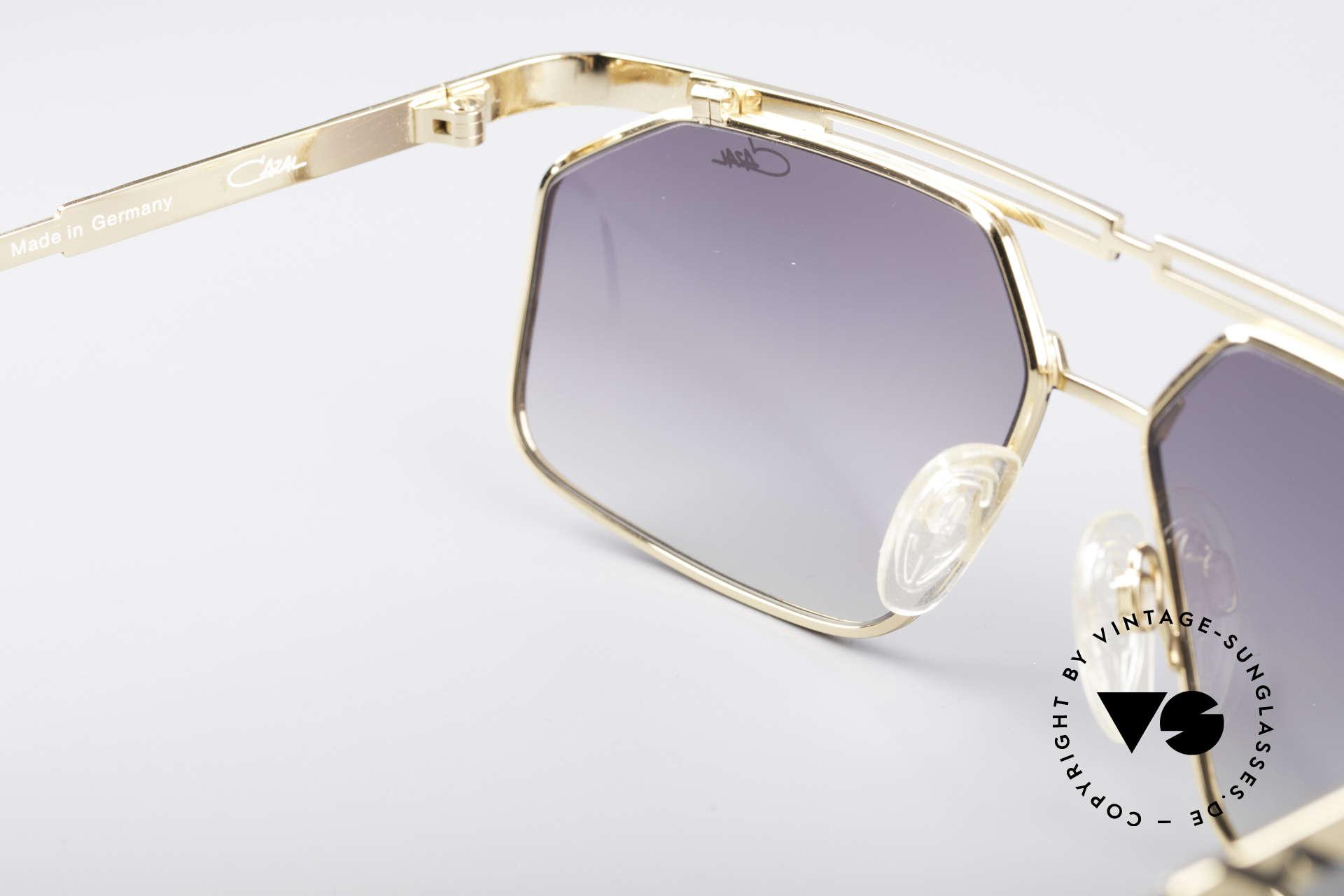 Cazal 966 Markante 90er Designer Brille, ungetragen (wie alle unsere vintage Cazal Brillen), Passend für Herren