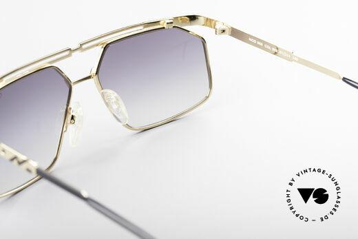 Cazal 966 Markante 90er Designer Brille, KEINE retro Sonnenbrille, 100% Original von 1994, Passend für Herren