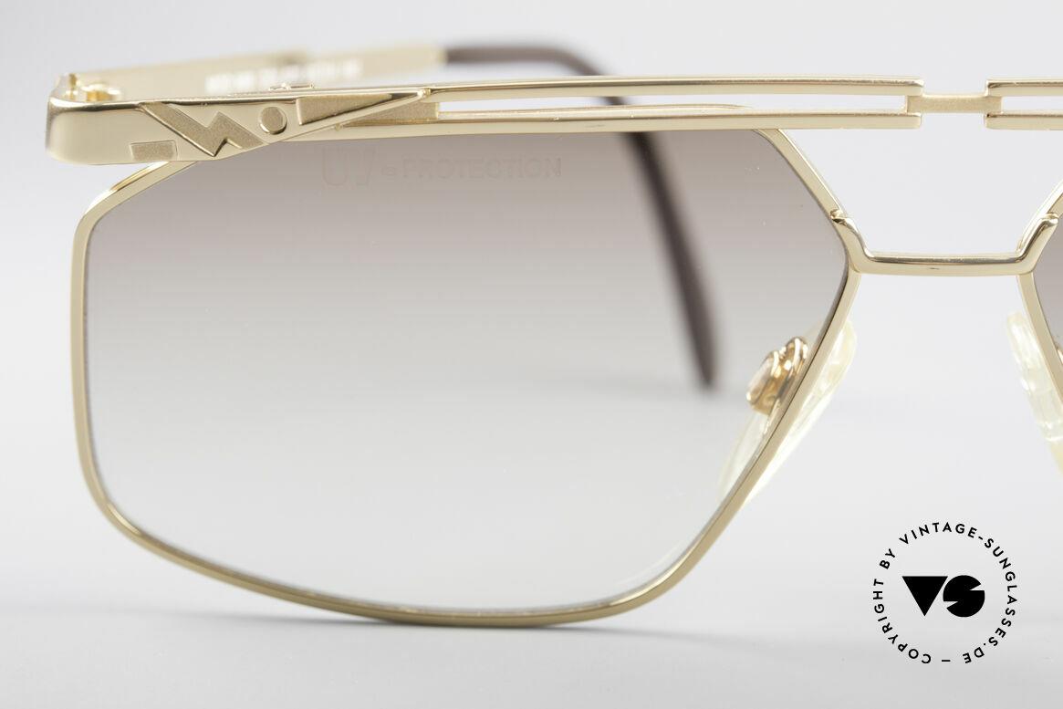 Cazal 966 Markante 90er Designer Brille, Größe: large, Passend für Herren