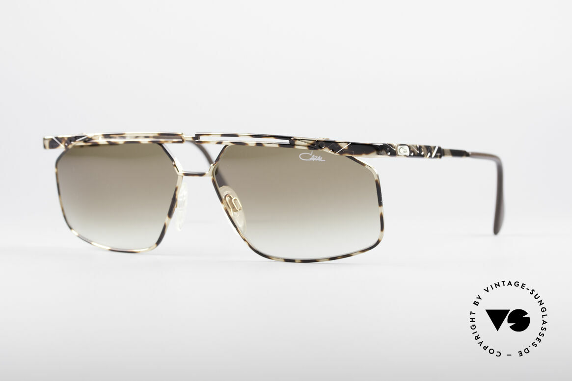 Cazal 966 Markante 90er Designer Brille, sehr maskulines Cazal Design aus den 90er Jahren, Passend für Herren