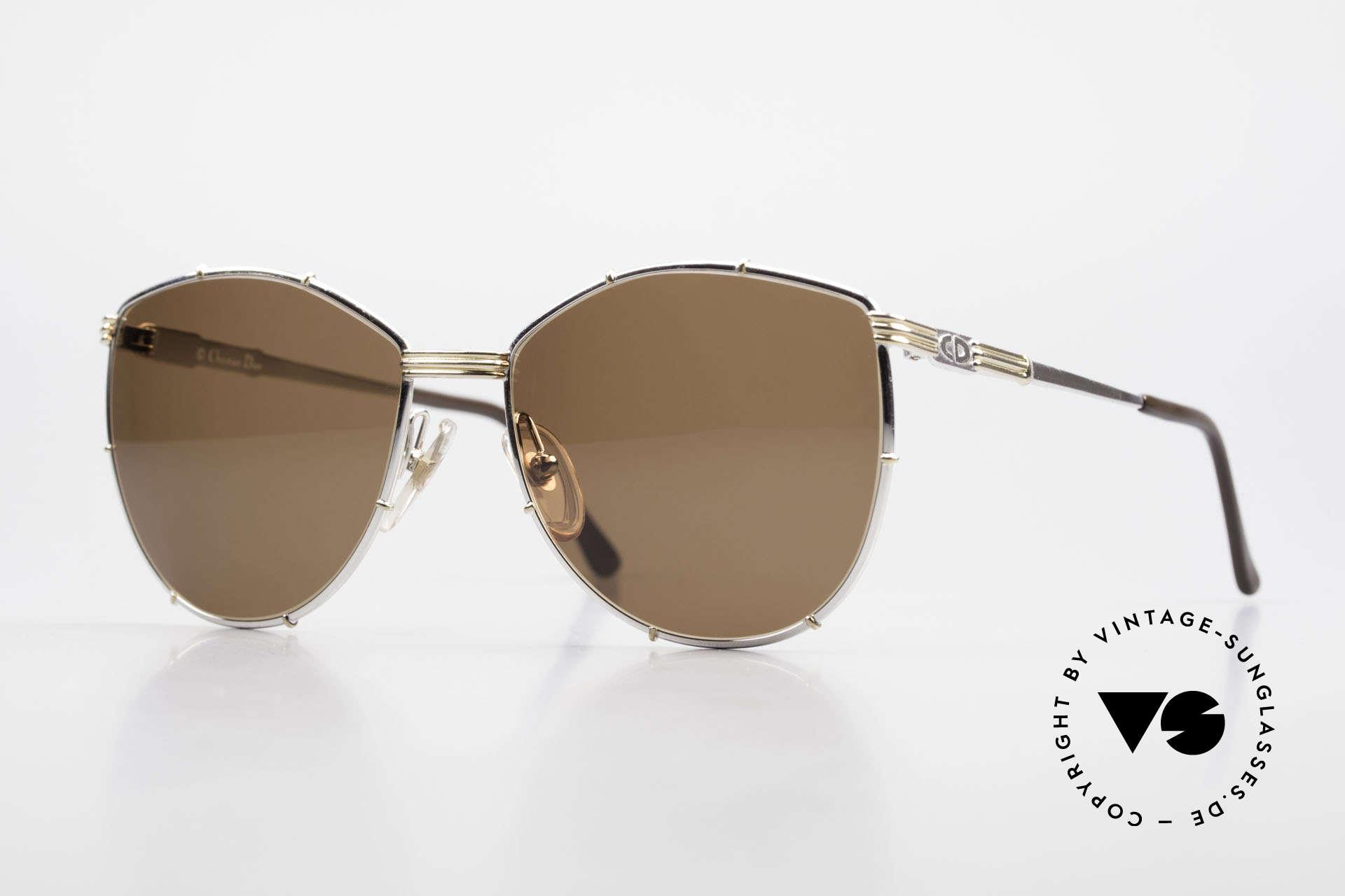 Christian Dior 2472 80er Vintage Designerbrille, Christian DIOR Designer-Sonnenbrille von 1988, Passend für Damen