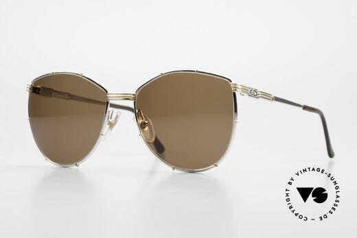 Christian Dior 2472 80er Vintage Designerbrille Details