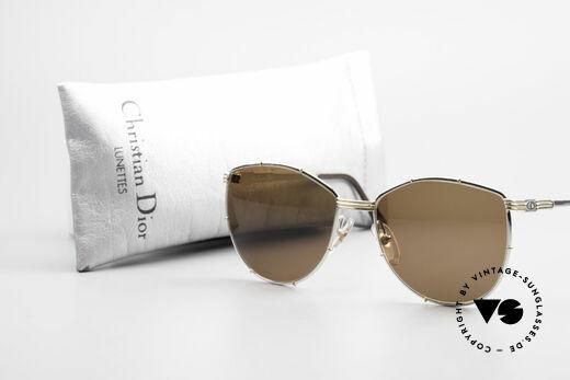 Christian Dior 2472 80er Vintage Designerbrille, Qualitäts-Fassung (Gr. 56/16) ist beliebig verglasbar, Passend für Damen