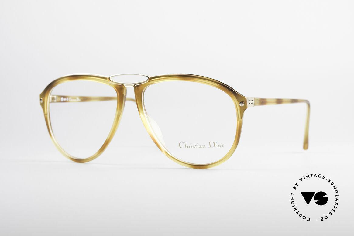 Christian Dior 2523 80er No Retrobrille Herren, einzigartige vintage Designerbrille von Christian Dior, Passend für Herren