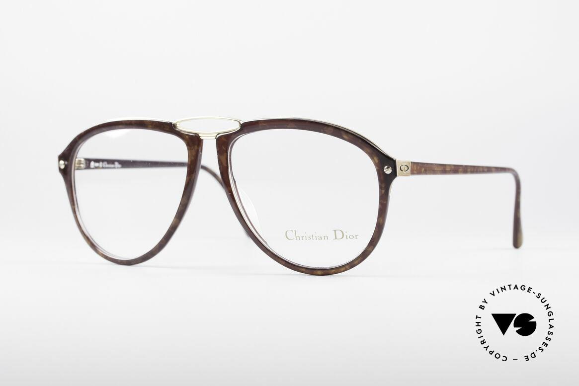 Christian Dior 2523 1980er No Retrobrille, einzigartige vintage Designerbrille von Christian Dior, Passend für Herren