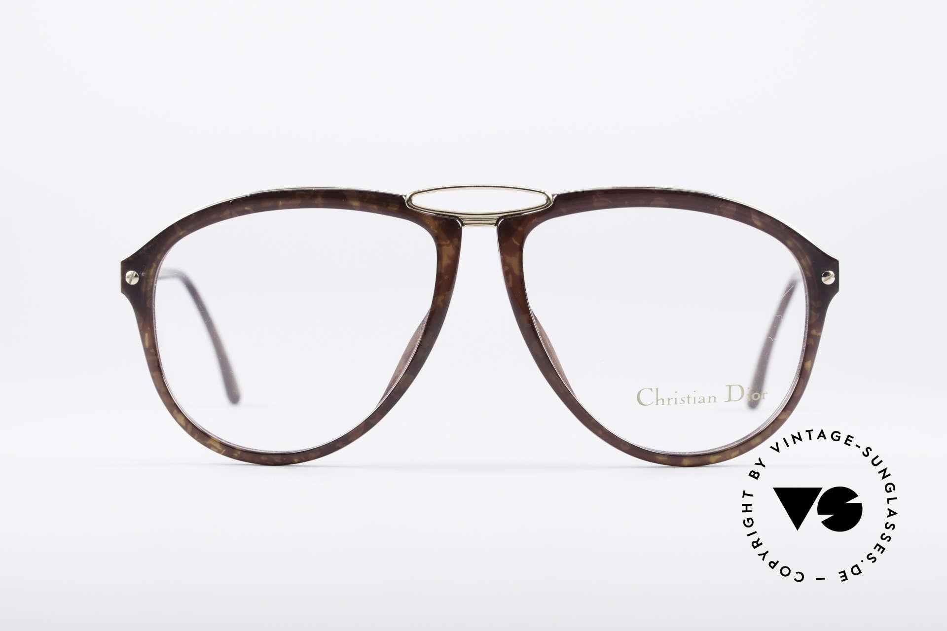 Christian Dior 2523 1980er No Retrobrille, eine echte Alternative zur gewöhnlichen 'Pilotenbrille', Passend für Herren