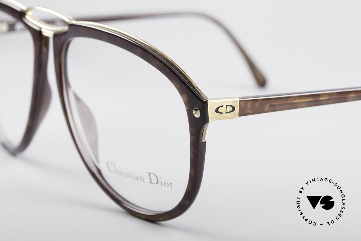 Christian Dior 2523 1980er No Retrobrille, absolute Top-Qualität (made in Germany der 80er J.), Passend für Herren