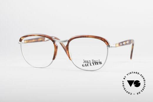 Jean Paul Gaultier 55-1273 90er Vintage Brille Details