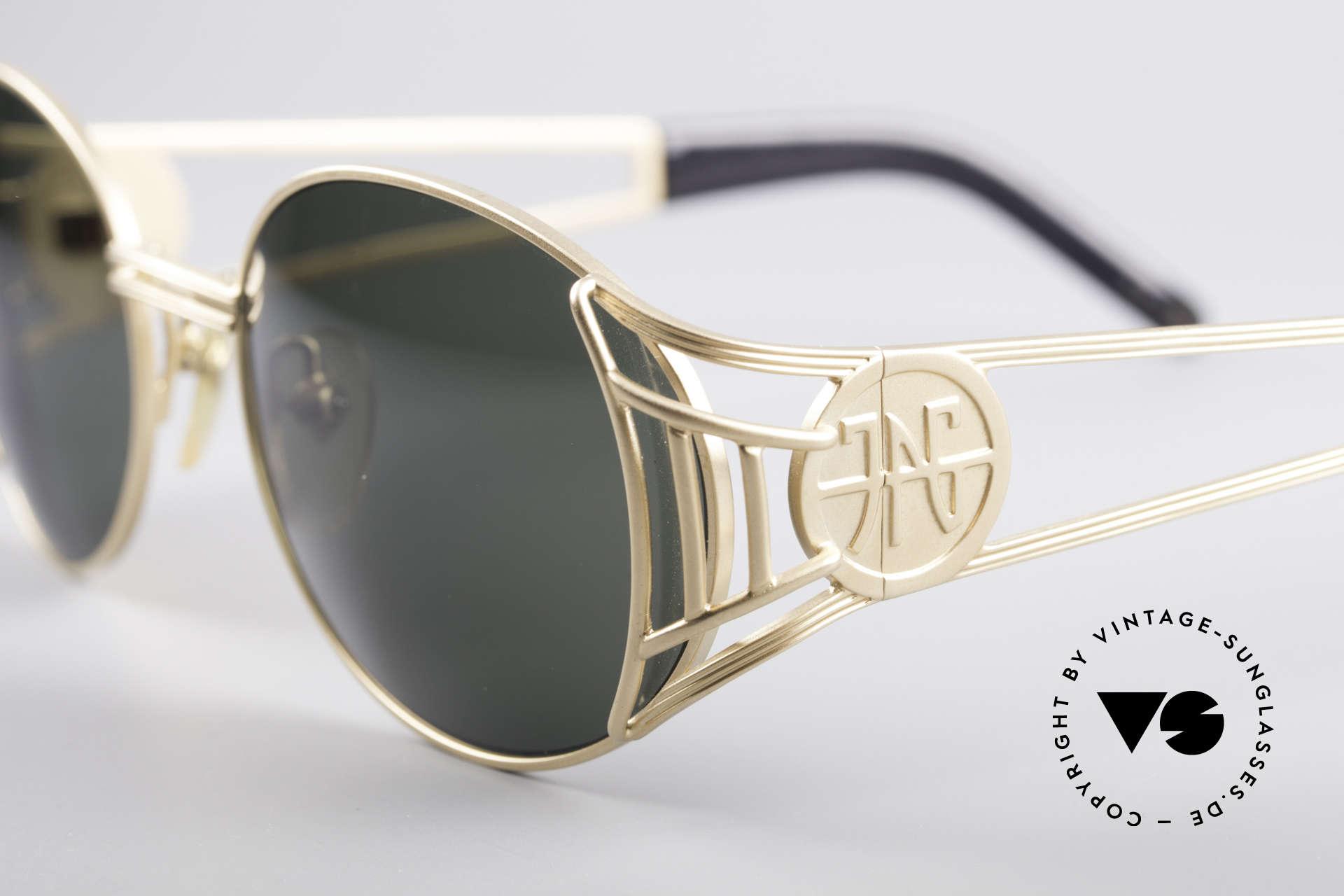 Jean Paul Gaultier 58-6102 Steampunk Designer Brille, absolute vintage Rarität in fühlbarem Top-Zustand, Passend für Herren und Damen