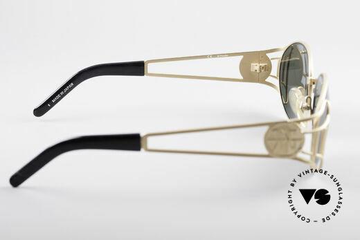 Jean Paul Gaultier 58-6102 Steampunk Designer Brille, KEINE RETROBRILLE; ein 20 Jahre altes ORIGINAL, Passend für Herren und Damen