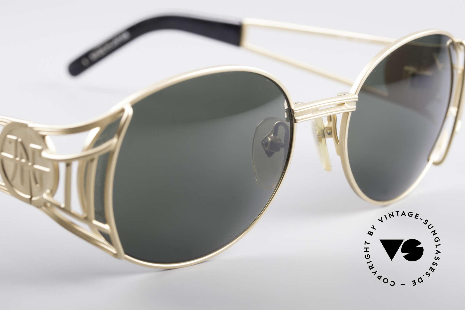 Jean Paul Gaultier 58-6102 Steampunk Designer Brille, Größe: medium, Passend für Herren und Damen
