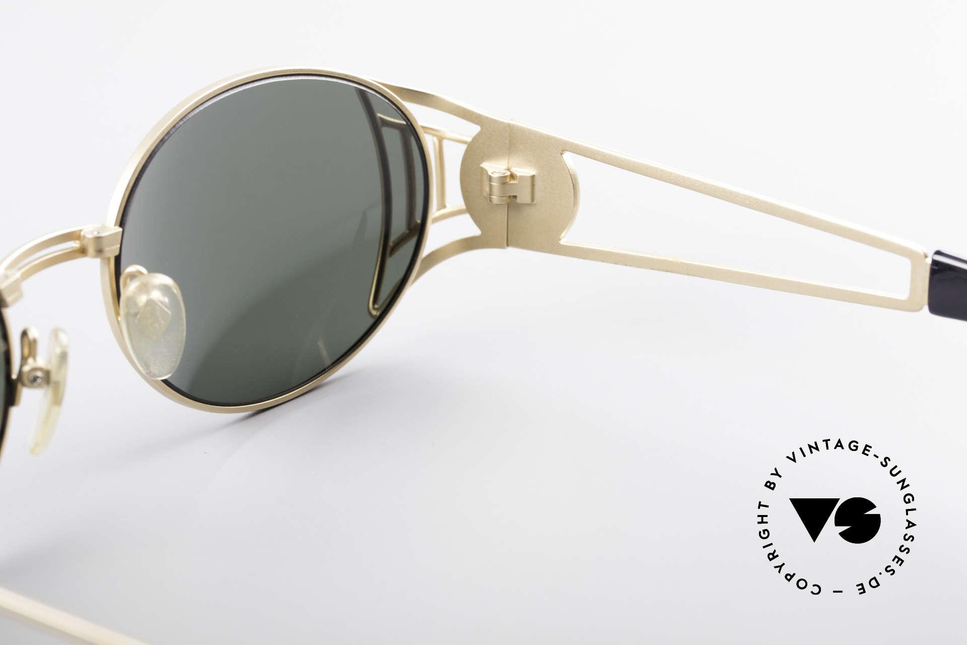 Jean Paul Gaultier 58-6102 Steampunk Designer Brille, ungetragen (wie alle unsere Gaultier Sonnenbrillen), Passend für Herren und Damen