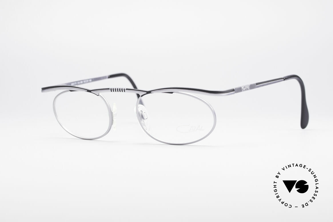 Cazal 771 90er Original KEINE Retrobrille, puristisch ovales vintage Brillengestell von Cazal, Passend für Herren und Damen