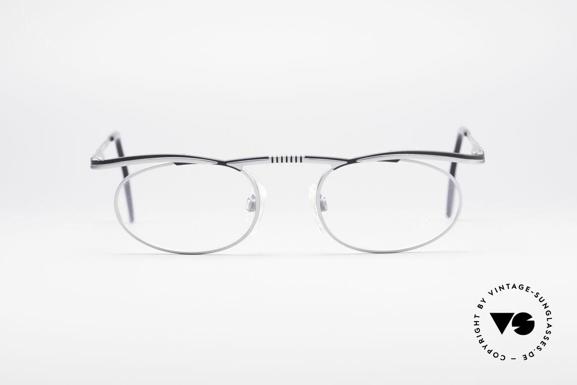Cazal 771 90er Original KEINE Retrobrille, futuristischer Rahmen mit flexiblen Federgelenken, Passend für Herren und Damen