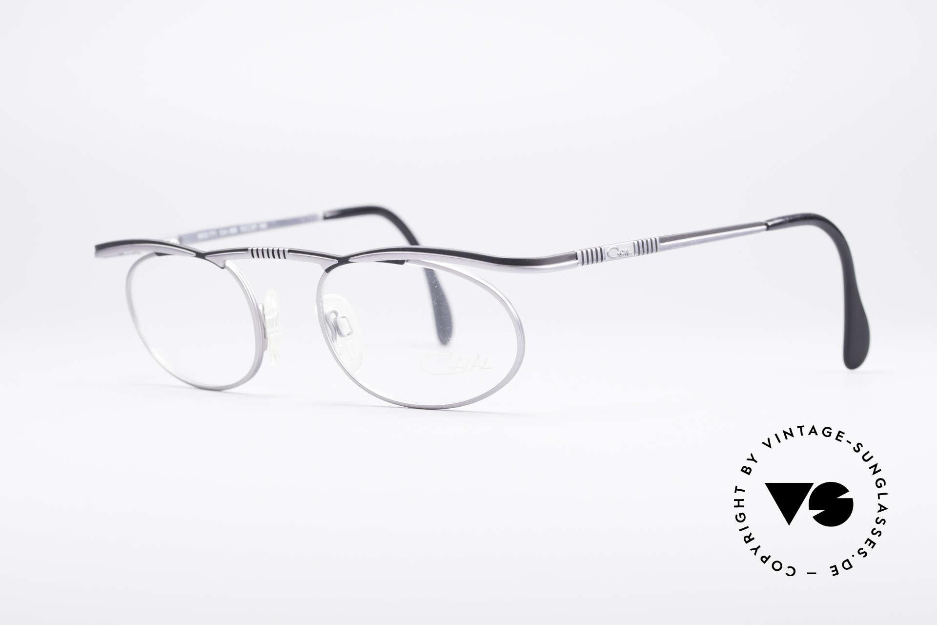 Cazal 771 90er Original KEINE Retrobrille, entsprechend hoher Tragekomfort (Top-Qualität), Passend für Herren und Damen