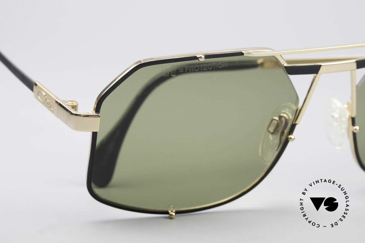 Cazal 959 90er Designer Herrenbrille, echte 'Gentlemen Sonnenbrille' mit Klasse & Stil, Passend für Herren