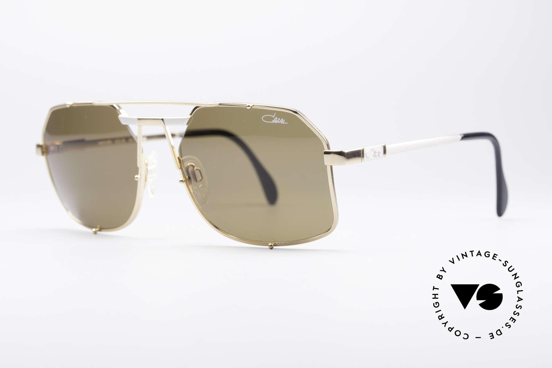 Cazal 959 90er Designer Herrenbrille, äußerst edle Rahmengestaltung in Farbe & Form, Passend für Herren