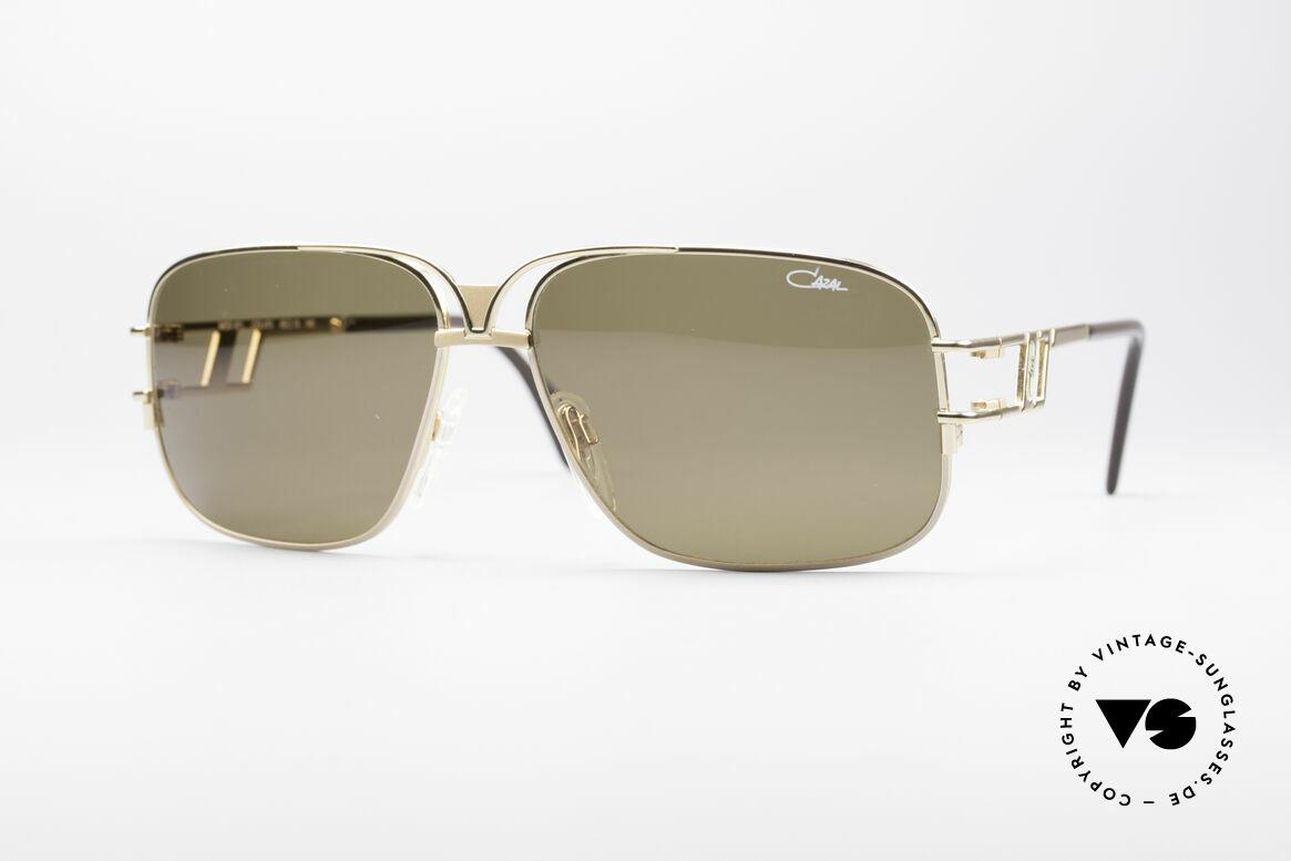 Cazal 971 Super Seltene Designerbrille, extrem seltene Cazal Designersonnenbrille von 1995, Passend für Herren