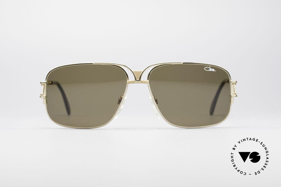 Cazal 971 Super Seltene Designerbrille, sagenhafte Fertigungsqualität (wie aus einem Guss), Passend für Herren