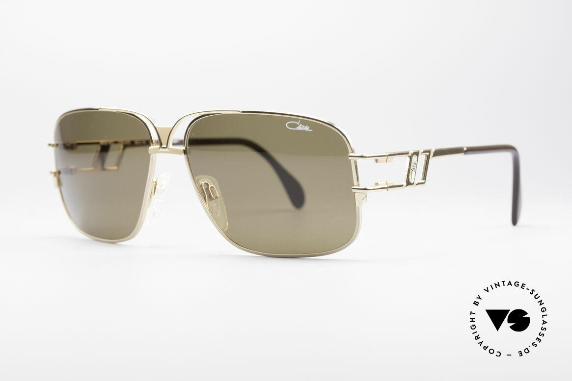 Cazal 971 Super Seltene Designerbrille, sehr interessantes Design (mal etwas völlig anderes), Passend für Herren