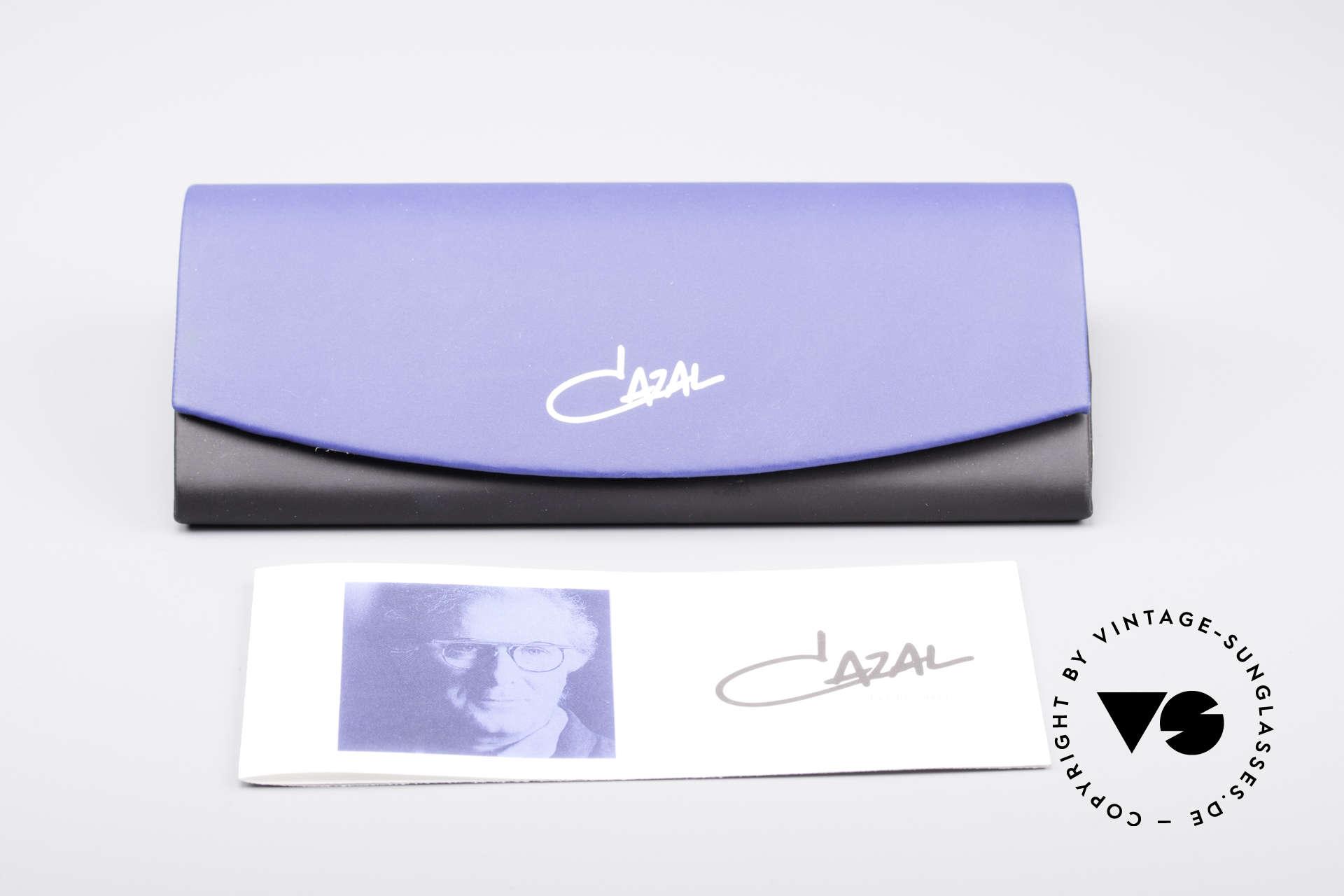 Cazal 971 Super Seltene Designerbrille, ein Highlight für Individualisten und Design-Liebhaber, Passend für Herren