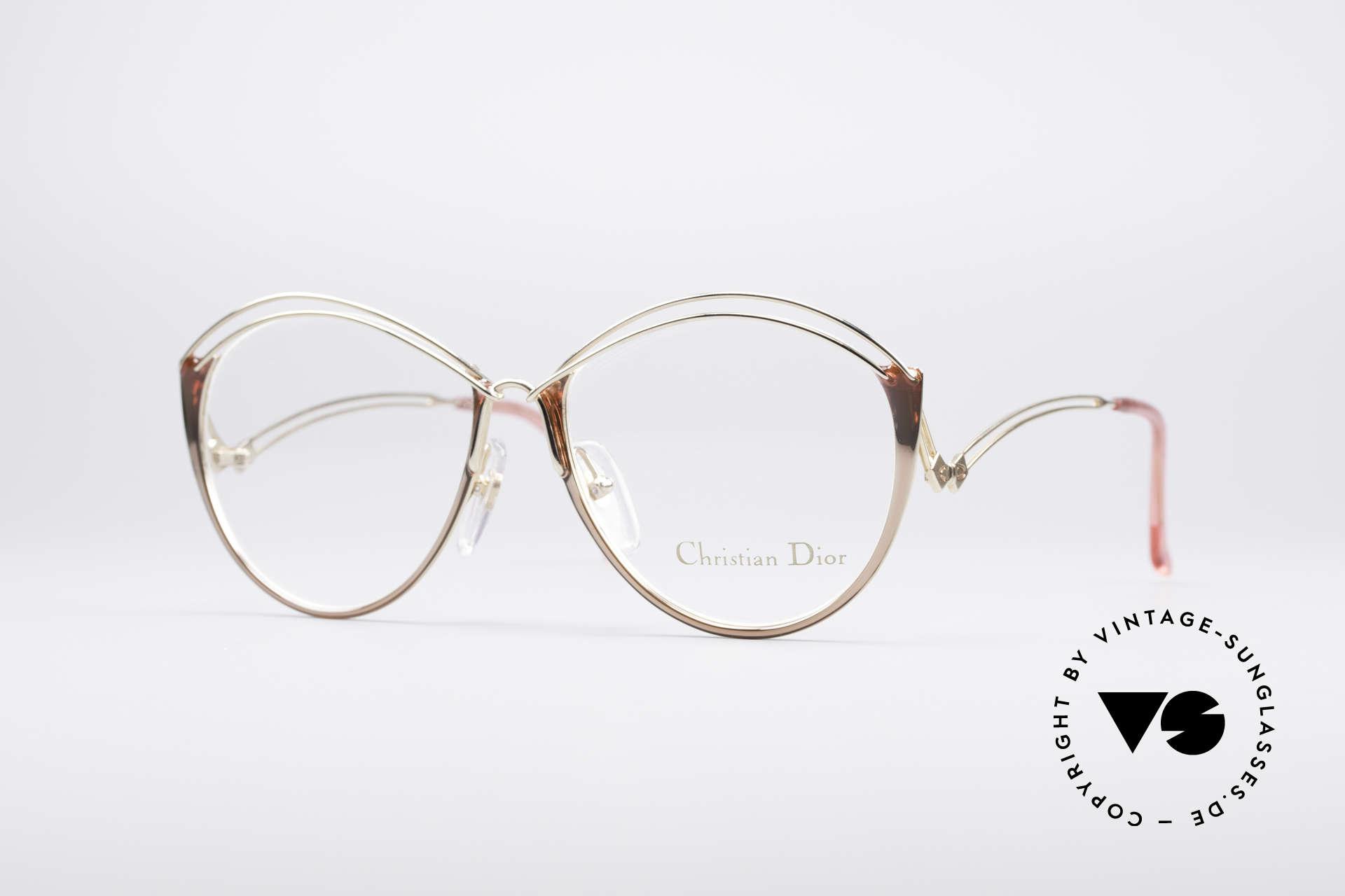 Christian Dior 2535 90er Ladies Brille, zauberhafte Christian Dior Damen-Brille von 1990, Passend für Damen