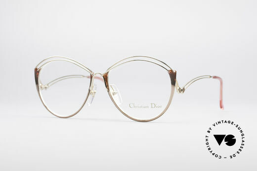 Christian Dior 2535 90er Ladies Brille Details