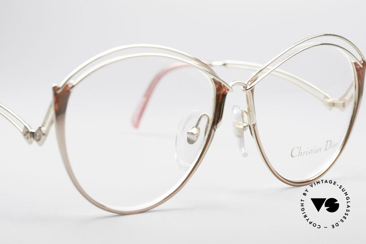 Christian Dior 2535 90er Ladies Brille, KEINE Retrobrille, ein über 25 Jahre altes Unikat!, Passend für Damen