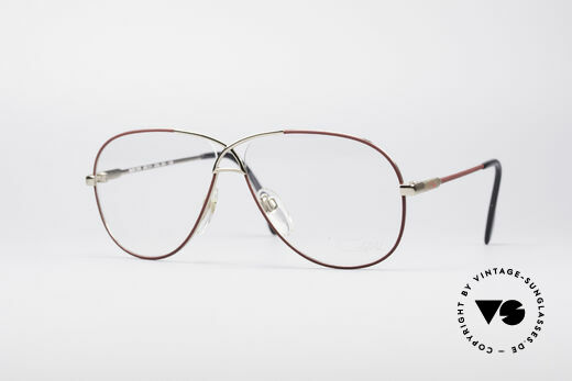Cazal 728 80er Vintage Pilotenbrille Details