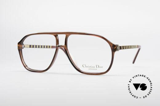 Christian Dior 2417 80er Monsieur Herrenbrille Details