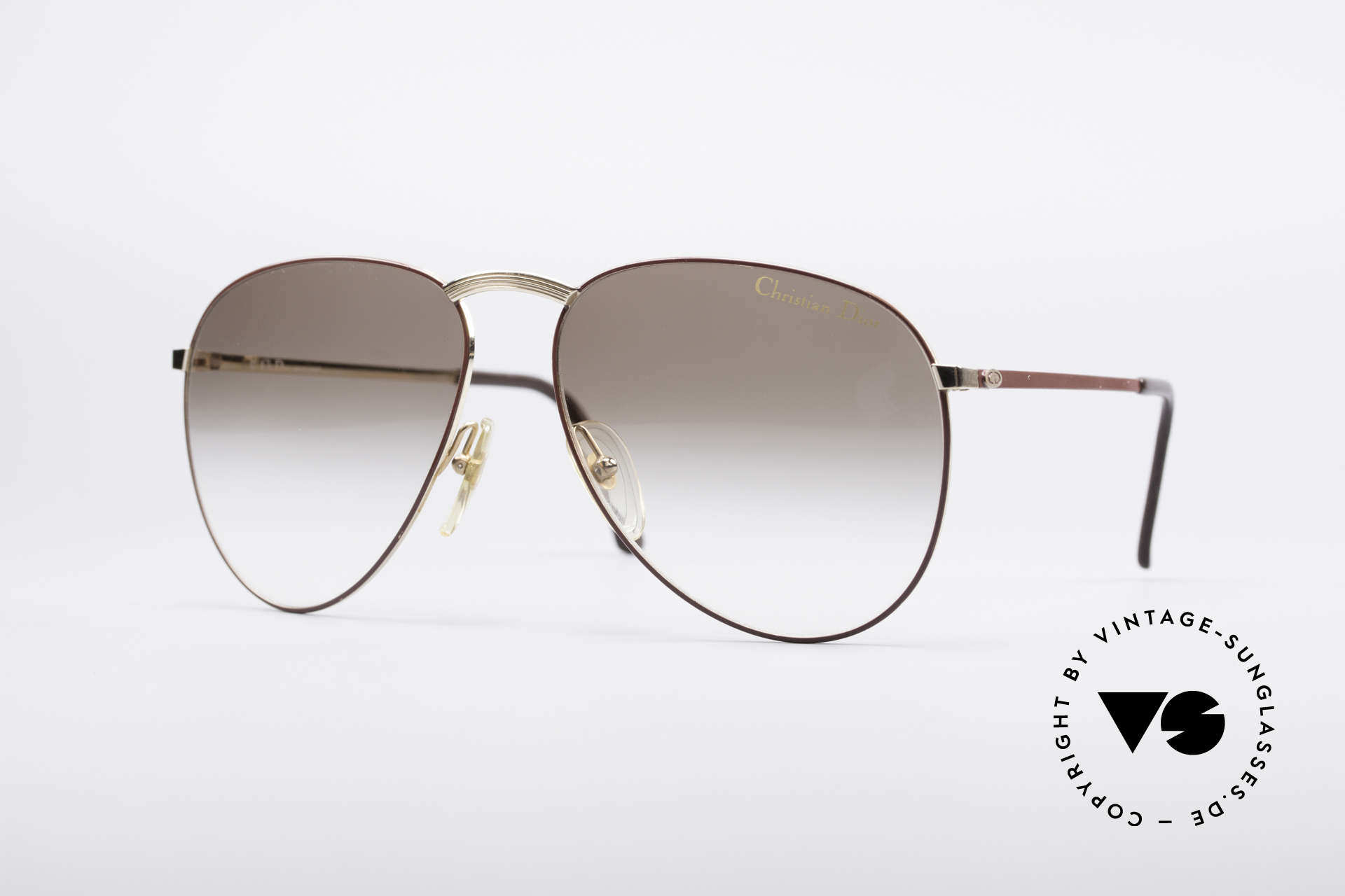 Christian Dior 2252 Seltene 80er Brille, pure Eleganz der Christian Dior Monsieur Serie, Passend für Herren