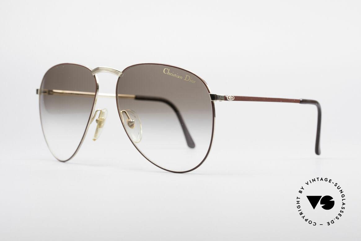Christian Dior 2252 Seltene 80er Brille, schlichtweg außergewöhnlich in Farbe und Form, Passend für Herren