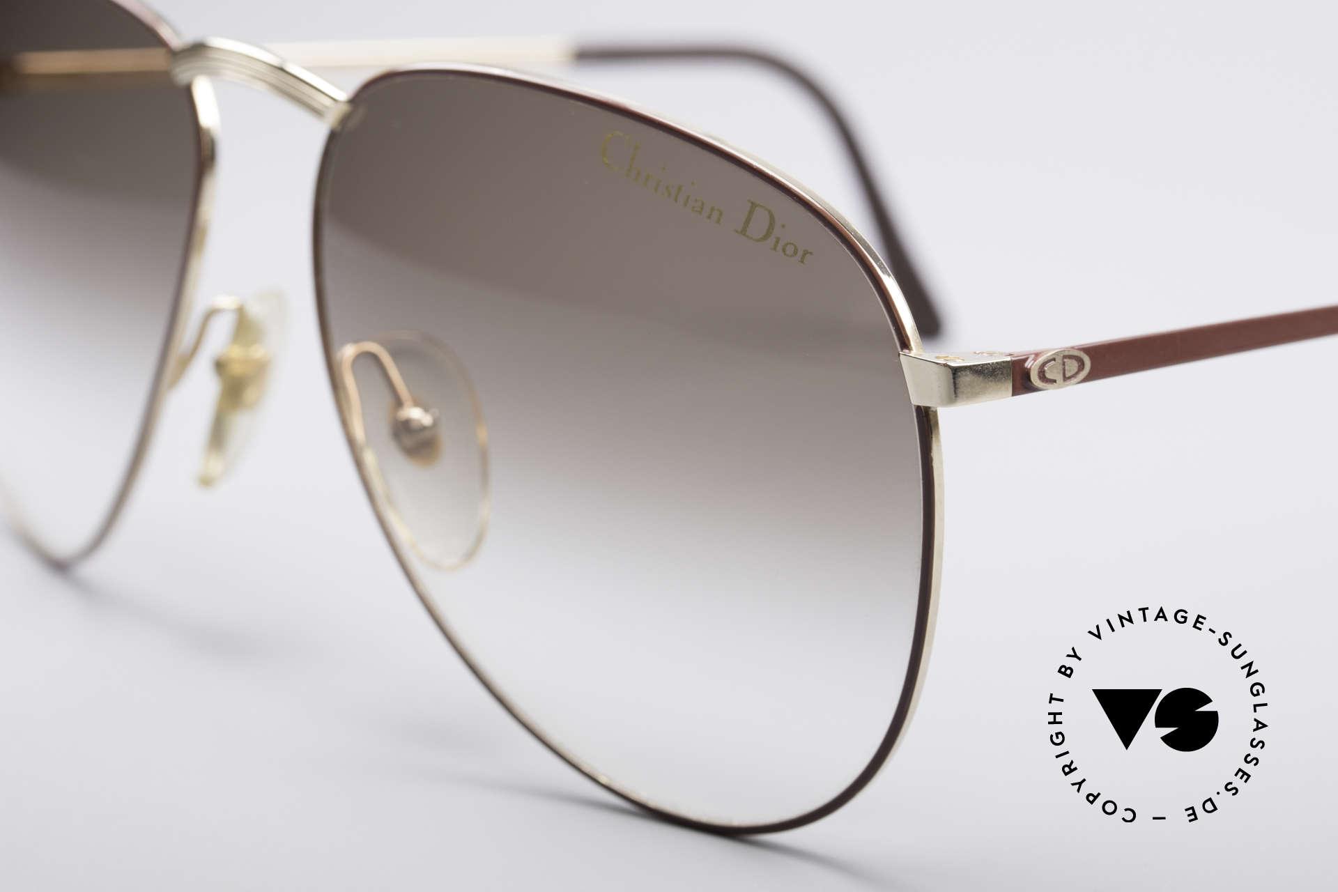 Christian Dior 2252 Seltene 80er Brille, ungetragenes Unikat (ein wahres Sammlerstück), Passend für Herren