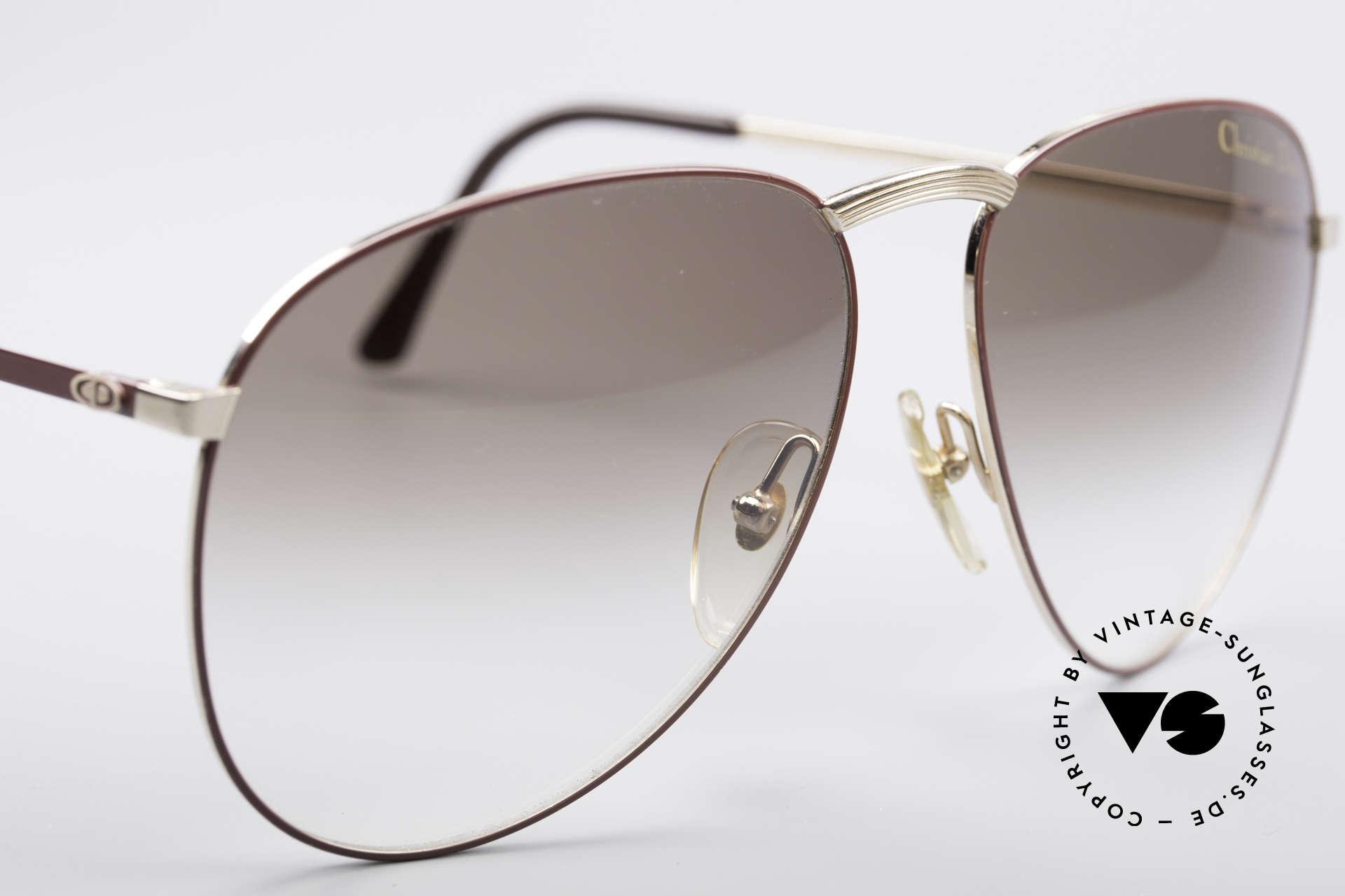 Christian Dior 2252 Seltene 80er Brille, KEINE retro Sonnenbrille, 100% vintage Original, Passend für Herren