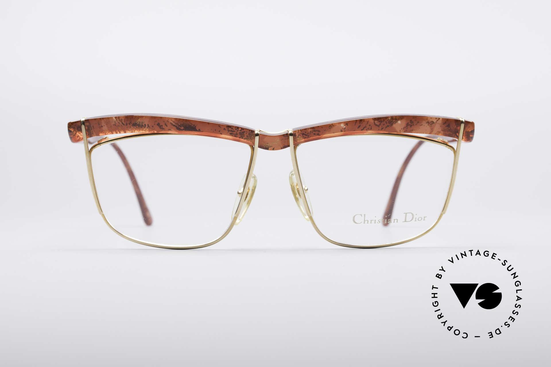 Christian Dior 2552 90er Vintage Brille, ein wahres Prunkstück in puncto Brillendesign, Passend für Damen