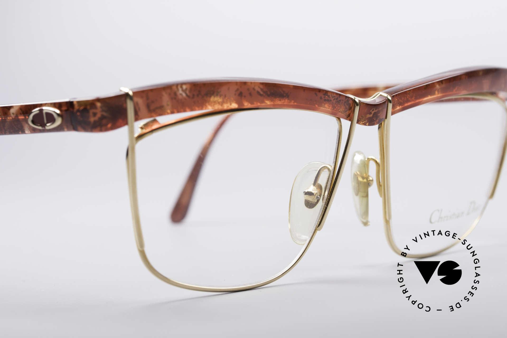 Christian Dior 2552 90er Vintage Brille, keine Retrobrille, sondern ein echtes altes Unikat!, Passend für Damen